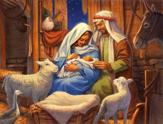 'The Nativity' by John Walker http://www.pinterest.com/ksunderhill/christmas-truly/