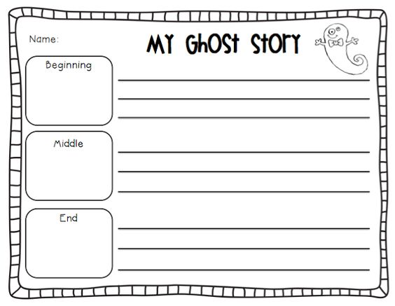 Scary Starters: Writing Activity Ideas