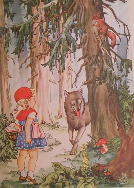 Grimms red riding hood