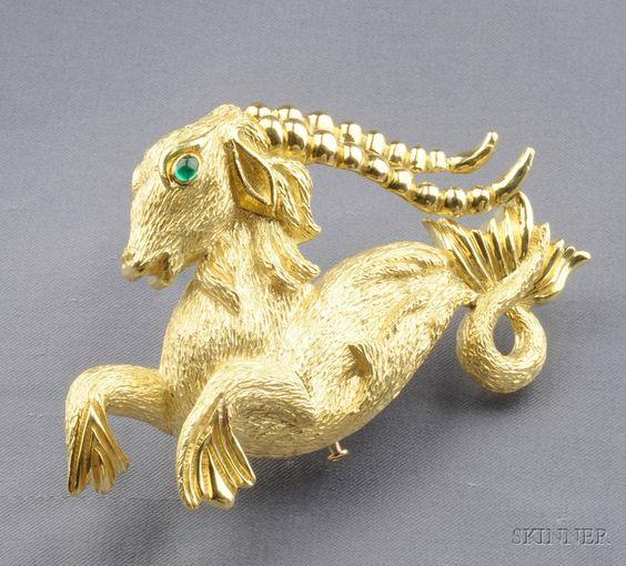 Capricorn, the goat-fish.