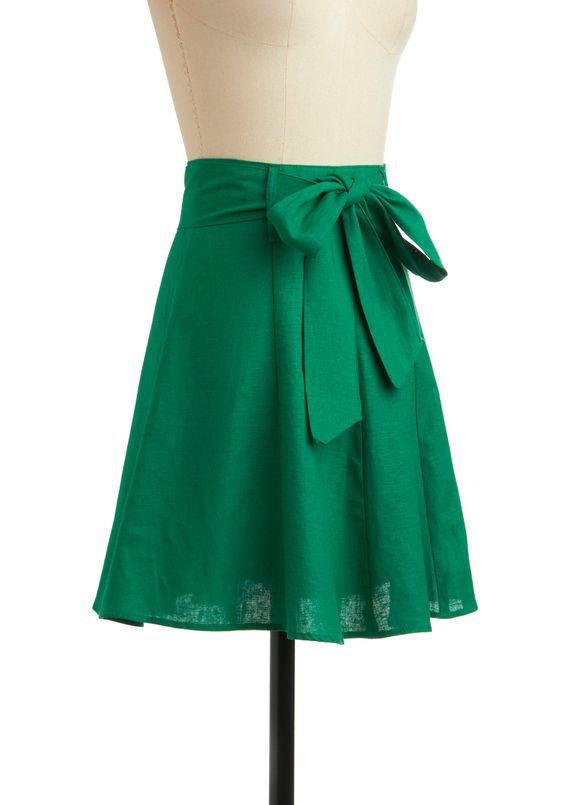 Musee Rodin Skirt