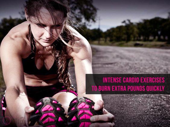 :  Intense #Cardio Exercises To Burn Extra Pounds Quickly