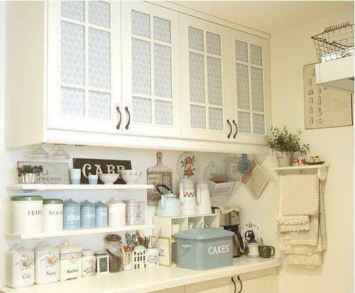 Arredamento shabby chic and shabby on pinterest - Pinterest shabby chic kitchens ...