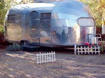 The Shady Dell, Bisbee, AZ.  1949 Airstream