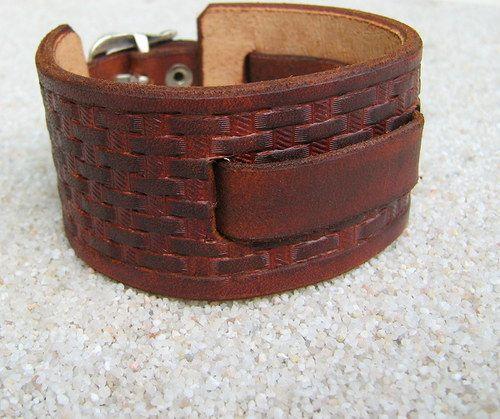 Basket western - pásek na hodinky