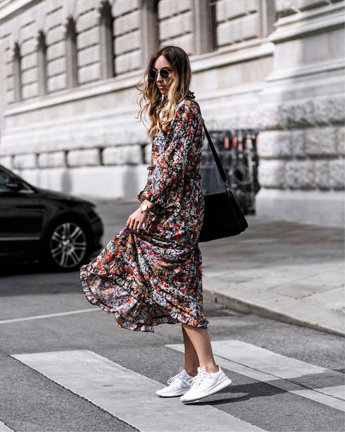 dress tumblr floral floral dress maxi