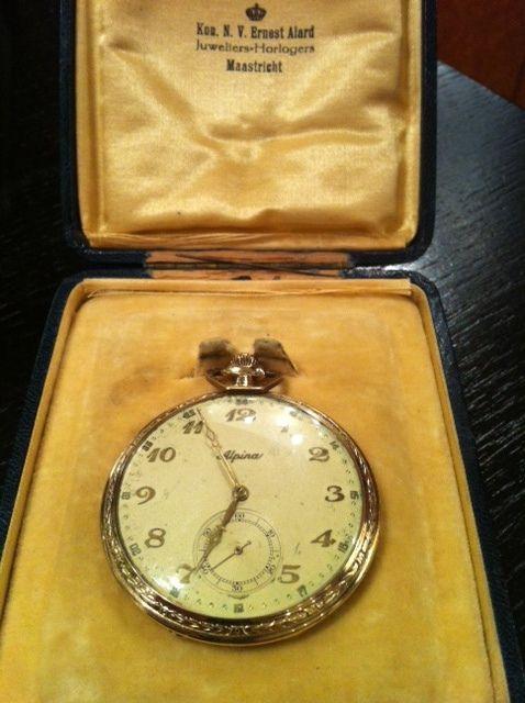 Alpina vintage pocket watch around 1930 by Alpina Watches, via Flickr