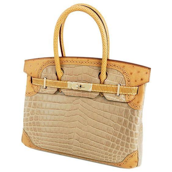 hermes birkin green ostrich bag price