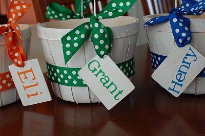 Cute DIY Easter Basket Ideas