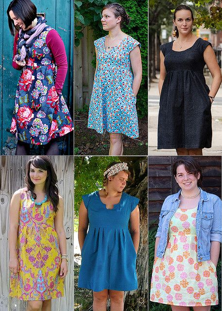 2013 Top Ten Downloadable Patterns – #4 Washi Dress From Made by Rae