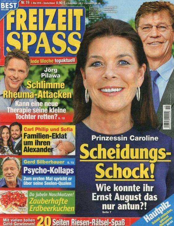 Caroline de Monaco (couverture de magazine)