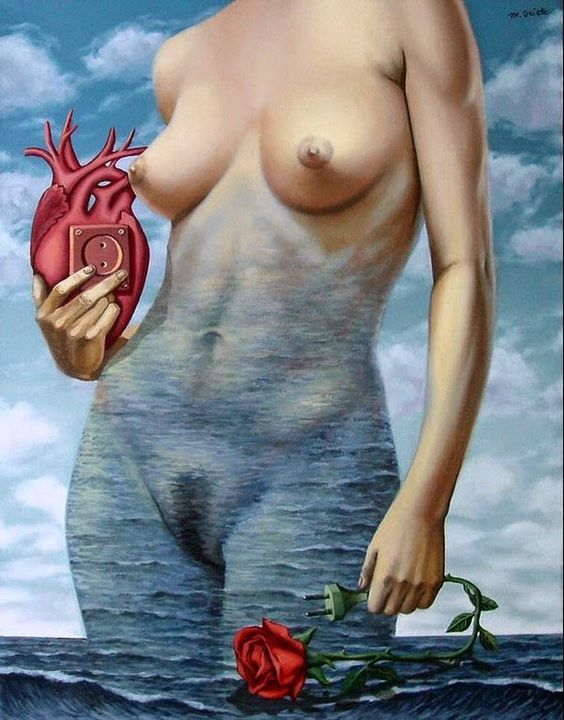 Anwar Nada Art *L'art aide à vivre*: mihai criste - romanian surreal artist