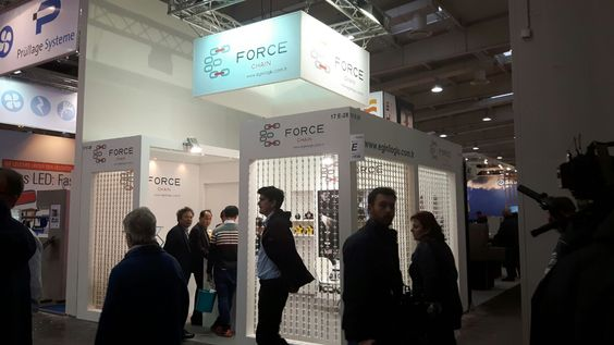 Our #‎Exhibition‬ Stand Design & Construction Services For Force Chain In EUROTIER 2016 Hannover.