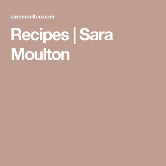 Recipes | Sara Moulton