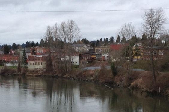 City of Snohomish WA (from the Snohomish River Kylie Hess)