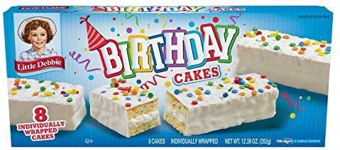 Marvelous Amazon Com Little Debbie Birthday Cakes Grocery Gourmet Food Funny Birthday Cards Online Eattedamsfinfo