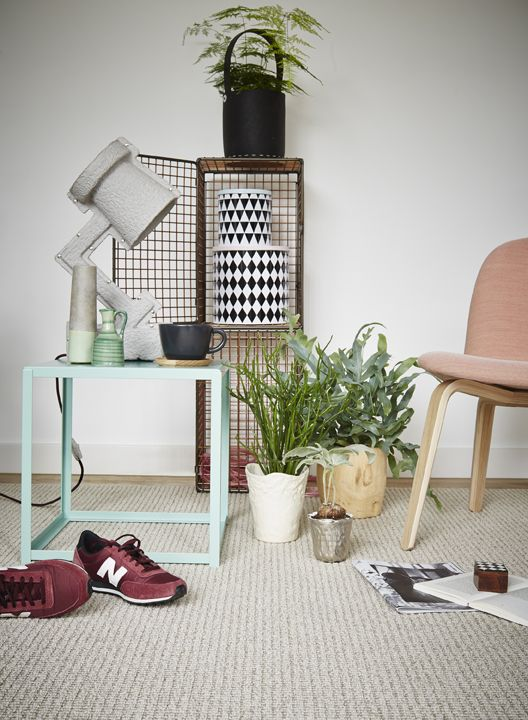 Home in pastel colors - via cocolapinedesign.com