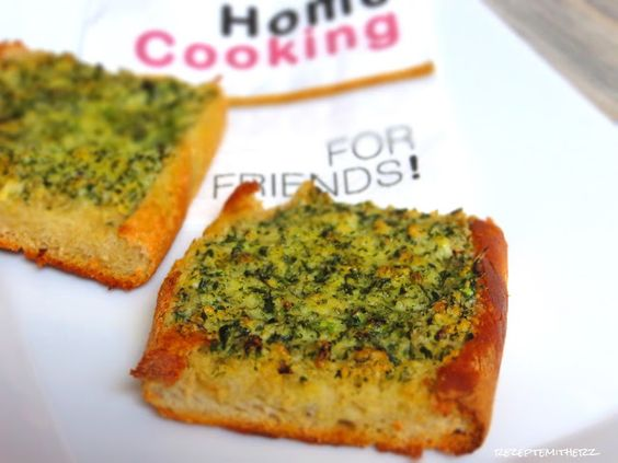 Rezepte mit Herz   ♥: Crusty Garlic Bread a la Pizza Hut