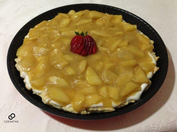 Tarta Cremosa de Manzana
