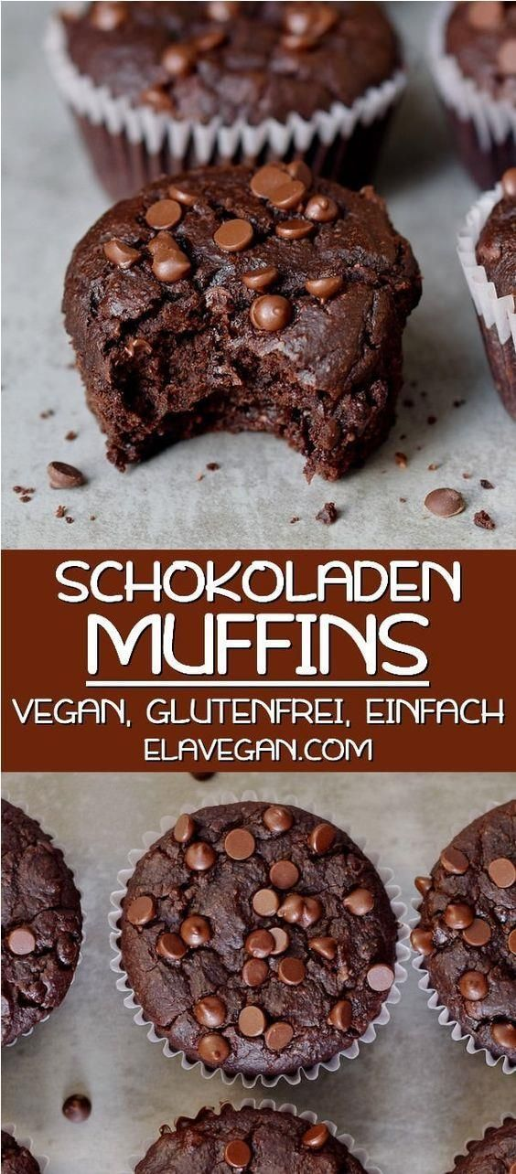 Vegane Rezepte Veganer Kuchen Vegane Rezepte Schnell Vegane Pfannkuchen Veganes Bana In 2020 Vegan Chocolate Muffins Gluten Free Chocolate Muffins Best Vegan Chocolate