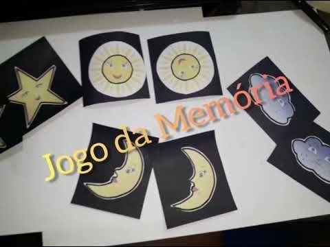 Jogo Da Memoria Dia E Noite Youtube Educacao Infantil Jogos Atividades Para Educacao Infantil