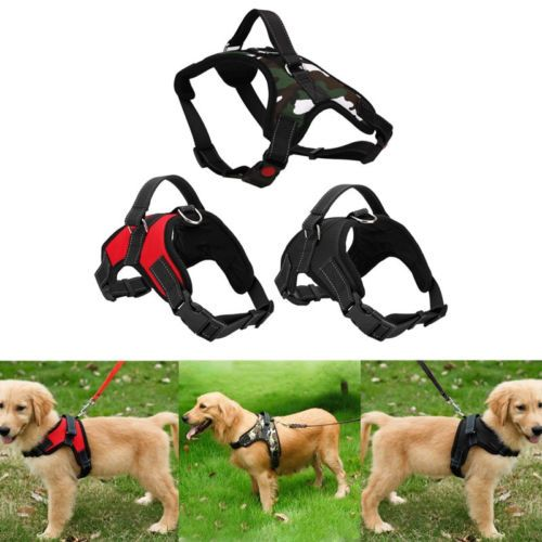 Adjustable Harness For Small Medium Large Dogs Walking Hand Strap