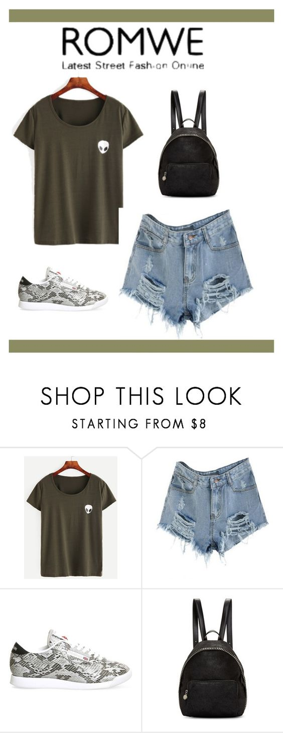 """Untitled #107"" by azraa-z ❤ liked on Polyvore featuring Reebok and STELLA McCARTNEY"