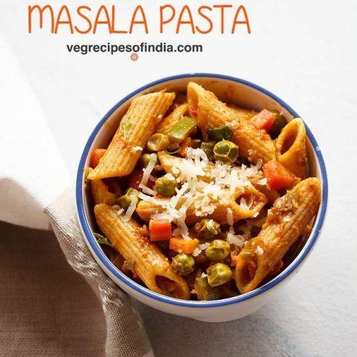 Masala Pasta Recipe Indian Style Pasta Veg Masala Pasta In 2020 Pasta Recipes Indian Pasta Indian Style Recipe Pasta Recipes In Hindi