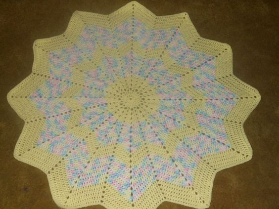 Crochet Patterns Yellow : ... star pattern multicolored and baby yellow Yellow, Babies and Stars