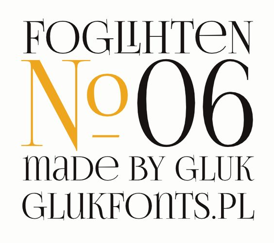 FoglihtenNo06 font by gluk - FontSpace