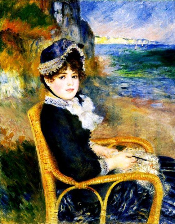 Renoir Pierre-August. Au bord de la Mer 1883