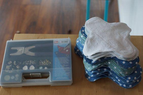 Nachhaltige Monatshygiene: Slipeinlagen und Binden selbst nähen  