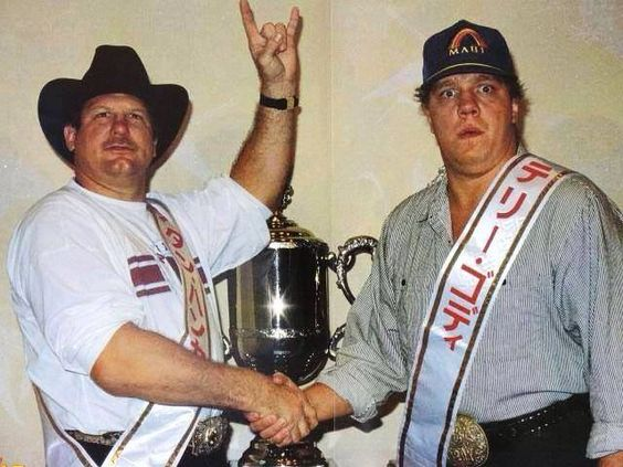 Stan Hansen and Terry Gordy