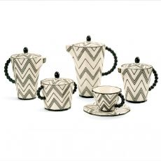1910s: Pavel Janák - coffee set, 1911.