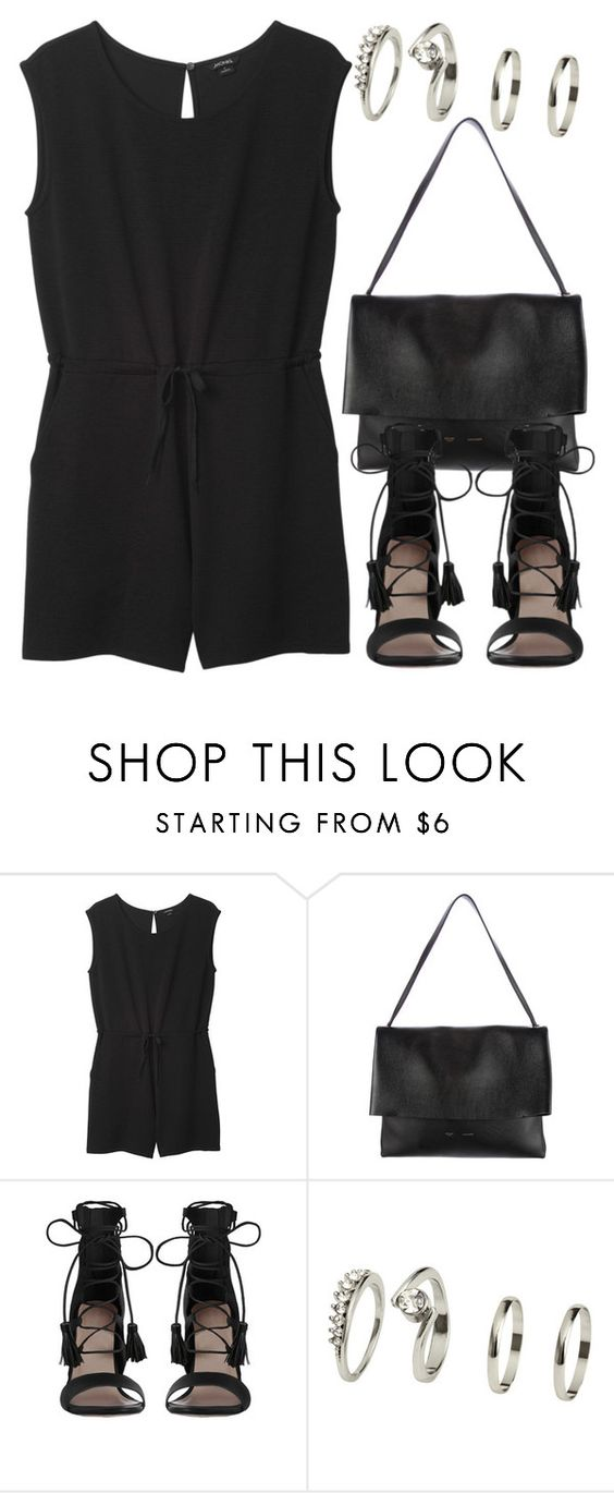 """""""#710"""" by thequeenwitch ❤ liked on Polyvore featuring Monki, CÉLINE and Zimmermann"""