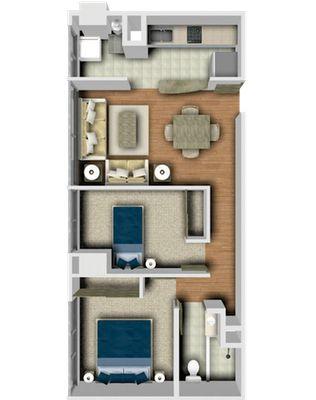 Planos de casas y plantas arquitect nicas de casas y for Casas alargadas distribucion
