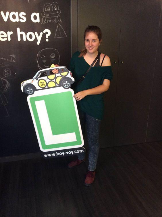 ALBA DALMAU!!! #hoyvoy #autoescuela #granollers