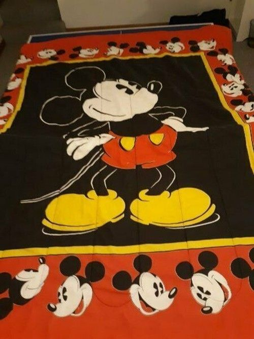 mickey mouse bedding vintage disney