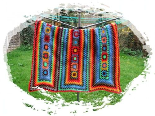 A new way to use granny squares