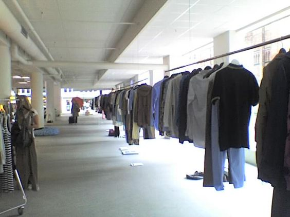 a wardrobe that looks like a shop. heaven