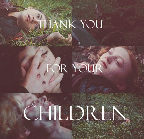 Thank you for your children.