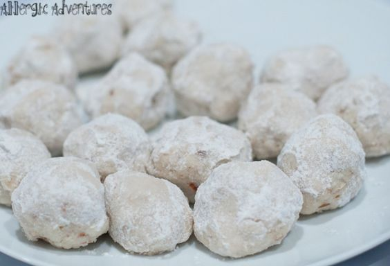 Russian Tea Cakes (for the gluten-free, dairy-free, egg-free, everything-free set)
