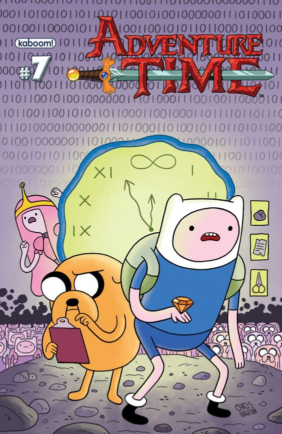 Adventure Time #7 (cover A) by Chris Houghton.