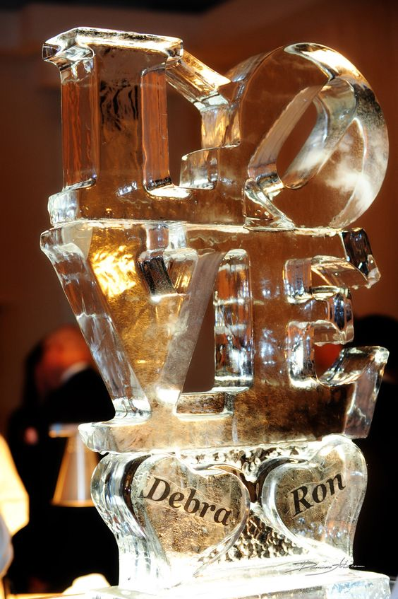 We get a free ice sculpture.... I'm thinking I like this one.