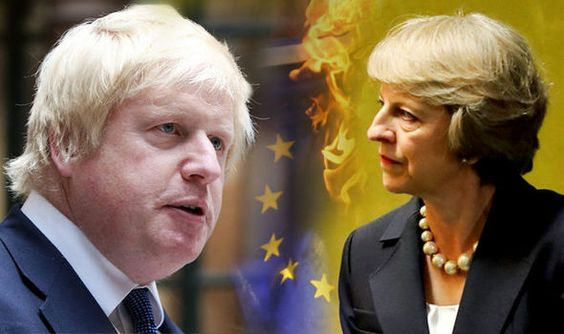 Lets get on with quitting the EU: Boris Johnson backs PM in fight for quick exit