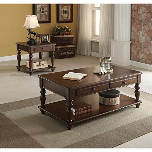 Benzar Products Benzar Products Coffee Table Traditional Coffee Table Living Room Table Sets Piece living room table set