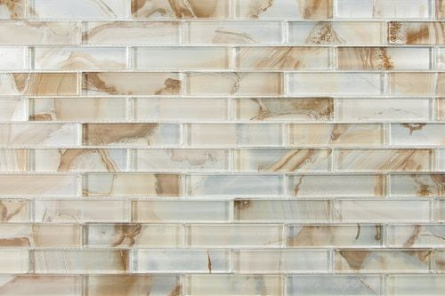 Lungarno Gypsea Series 1inx4in 12x12 Mesh Mount Sheet Neso In 2020 Mosaic Glass Mosaic Patterns Mosaic Tiles