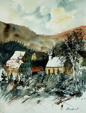 "Saatchi Online Artist Pol Ledent; Painting, ""watercolor 260107 SOLD"" #art"