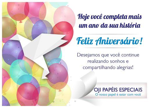 Cartão de aniversário corporativo oito2 Comunicação Criação: illustrator