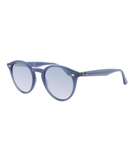 This Clear Gradient & Blue Mirror Opal Dark Azure Sunglasses by Ray-Ban is perfect! #zulilyfinds